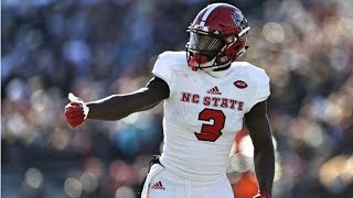 NC State WR Kelvin Harmon || 2018 Season Highlights