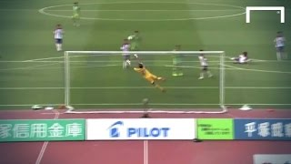 Misao Scores With A Top Corner Beauty