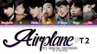 BTS (방탄소년단) - Airplane pt.2 (Color Coded Lyrics/Han/Rom/Eng)