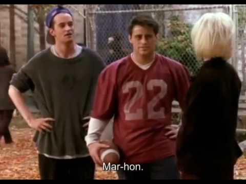 Friends - The best of Chandler and Joey (only) Season 3 Uncut