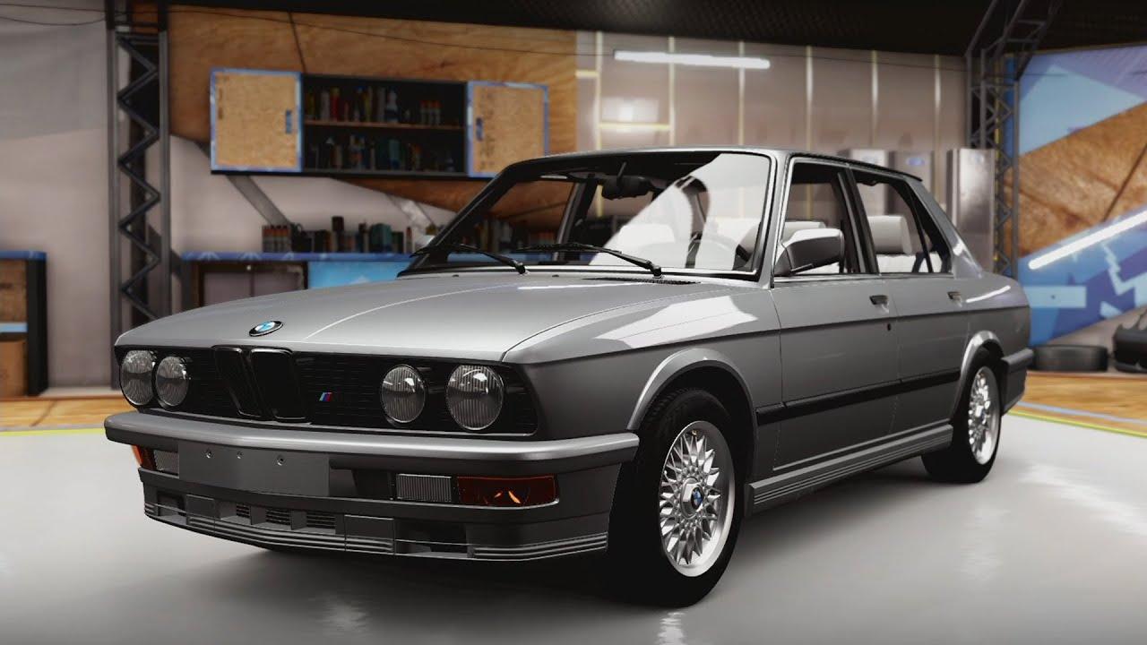 Forza Horizon BMW M Drift Build YouTube - 1988 bmw m5