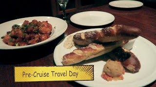 Pre-Cruise Travel NY to FL & What We Ate