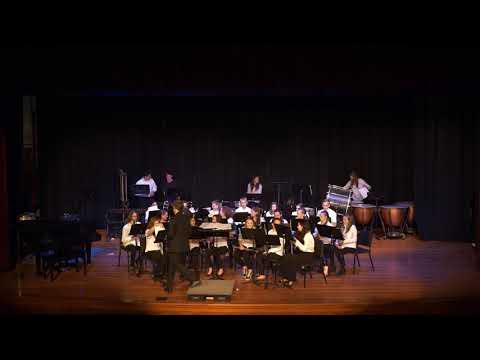 Hood River Middle School 8th Grade Spring concert 2019