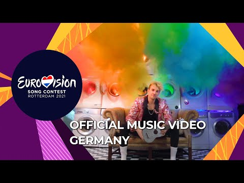 Jendrik - I Don't Feel Hate - Germany ?? - Official Music Video - Eurovision 2021