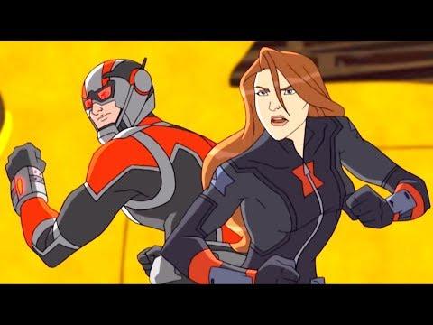 Марвел | Мстители: Революция Альтрона | Серия 18 Сезон 3 - Человек-Муравей крупным планом