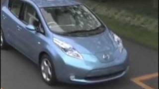 Leaf, Nissan electric car, Evehicle, Sign up customers in April, ship end of 2010