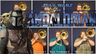 The Mandalorian with TWO contrabass trombones!