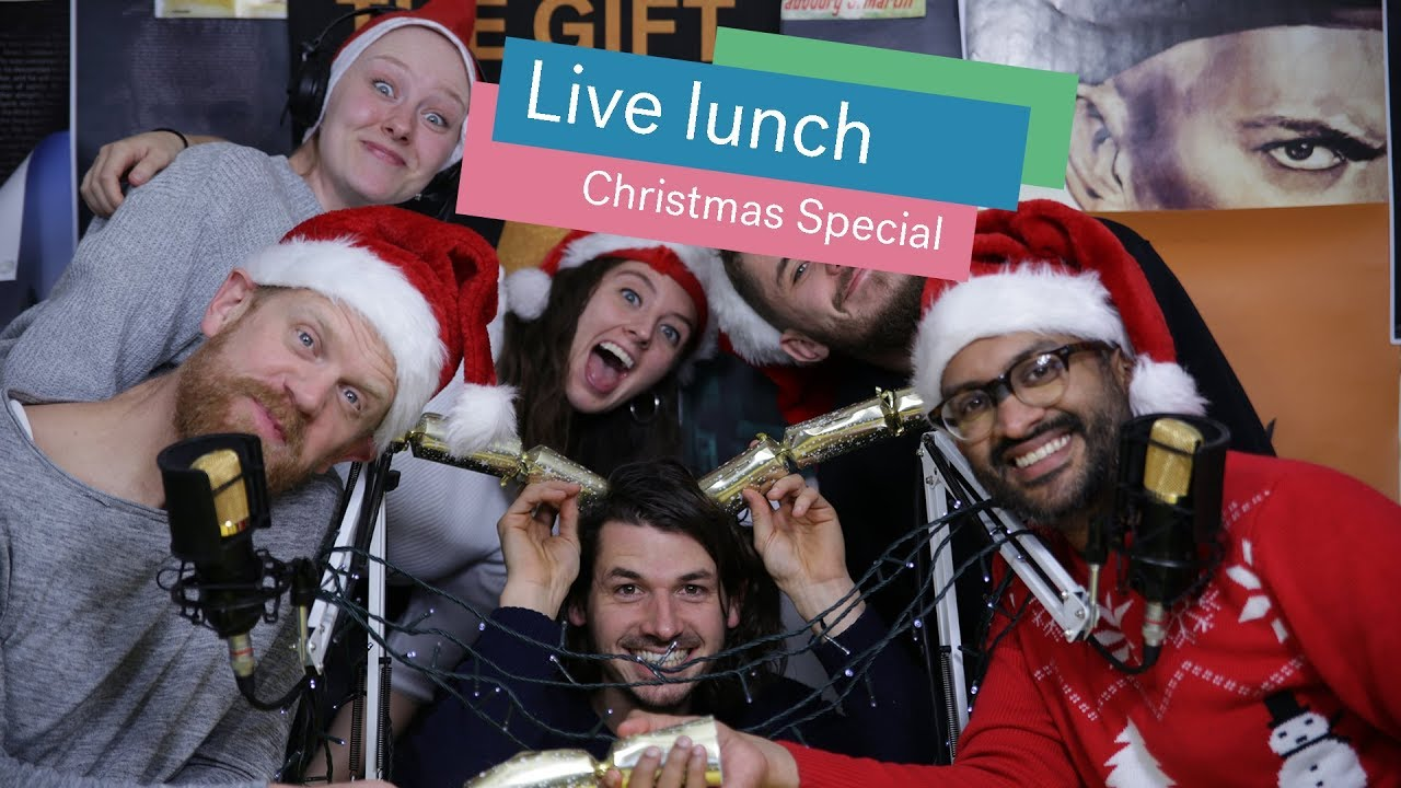 #LiveLunch Christmas Special Cover Image