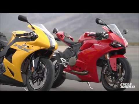 EBR 1190RX vs Ducati Panigale