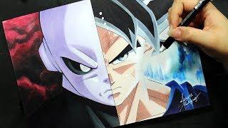 Speed Drawing - Jiren | Goku