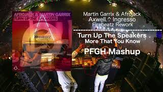 Скачать Turn Up The Speakers Vs More Than You Know Firebeatz Rework PFGH Mashup
