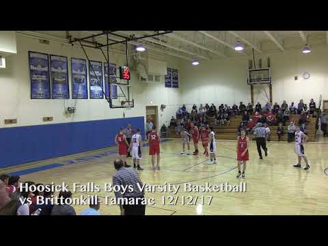 Hoosick Falls Basketball: Boys vs Brittonkill Tamarac - 12/12/17