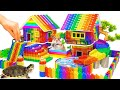 - DIY - Build Mega Villa House Has Pool Slide For Turtle And Hamster With Magnetic Balls Satisfying
