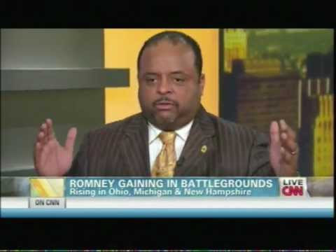 Roland Martin and Lenny McAllister on CNN's Early Start Oct 10 2012  2nd Segment