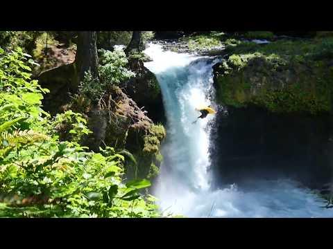 "New kayak trick ""Orbit Flip"""