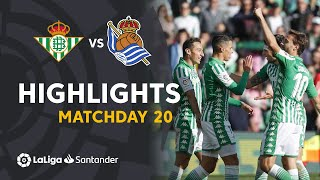 Highlights Real Betis vs Real Sociedad (3-0)