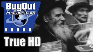 Hd Historic Stock Footage Jewish Ghetto New York 1932 Passover Eve