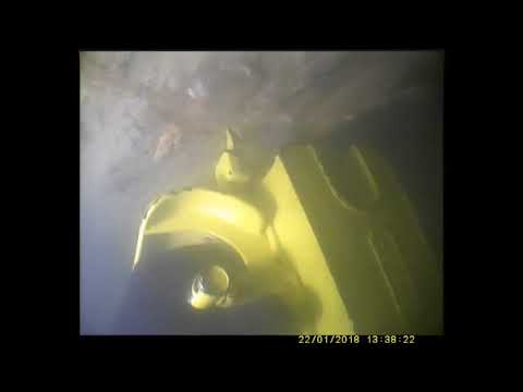 Sub Sea Services UW Chainsaw cutting