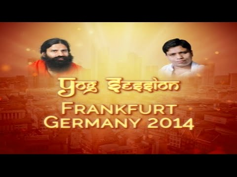 Yoga Session @ Frankfurt, Germany 2014 (Part 1)