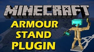 Customisable Armourstand GUI in Minecraft with Armourstand Tools Plugin