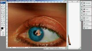 Photoshop: inserire un immagine in un occhio