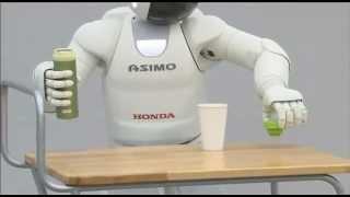 Honda New ASIMO Robot Bartending Cool Commercial Carjam TV HD