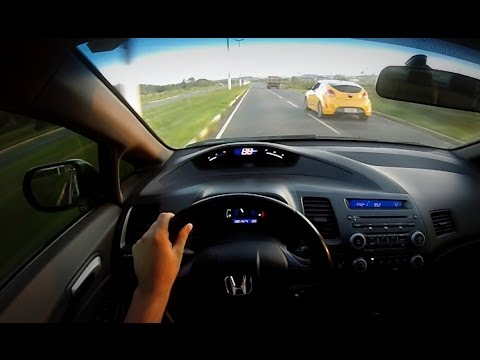 CARROVLOG NEW CIVIC LXS VELOSTER AMARELO A INCREVEIS 88 KM o