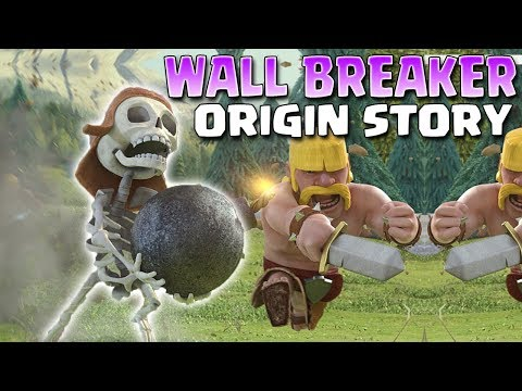 How A Barbarian Became The Wall Breaker  - Clash Of Clans & Clash Royale | Wall Breaker Origin Story