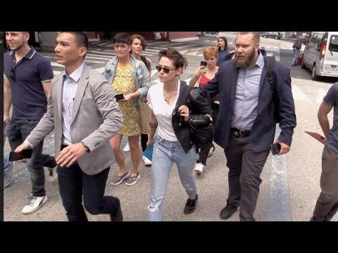 EXCLUSIVE : Jury member Kristen Stewart arriving in Cannes