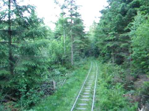 The Narrow Gauge Railway Mindunok - Vyhoda, Ukraine