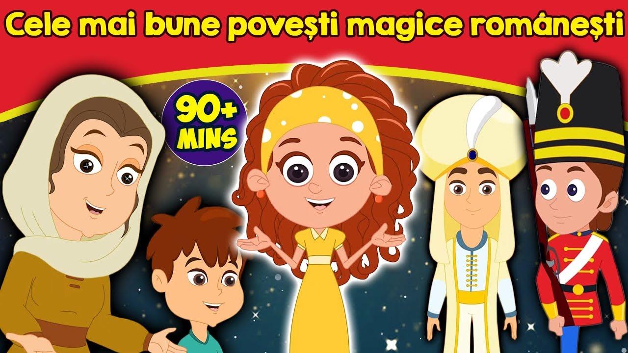 Cele mai bune povești magice românești   Povești pentru copii   Desene animate   Basme În Limba
