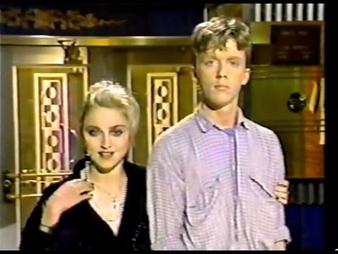 MADONNA & ANTHONY MICHAEL HALL - Saturday Night Live (Premiere) 1985
