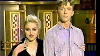 MADONNA & ANTHONY MICHAEL HALL - Saturday Night Live (Premiere) 1985