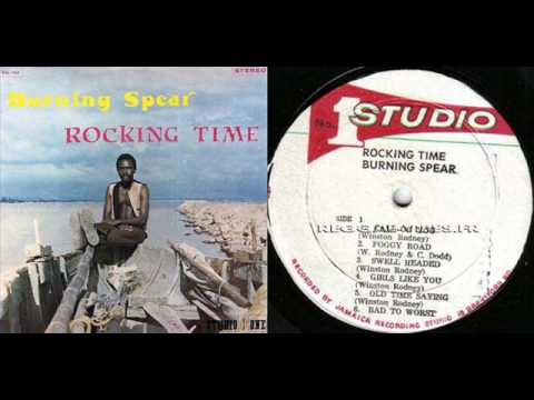 Burning Spear - Girls like you-Studio One Reggae