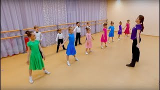 Дети на паркете. Как проходят тренировки в школе танцев Дети на паркете?