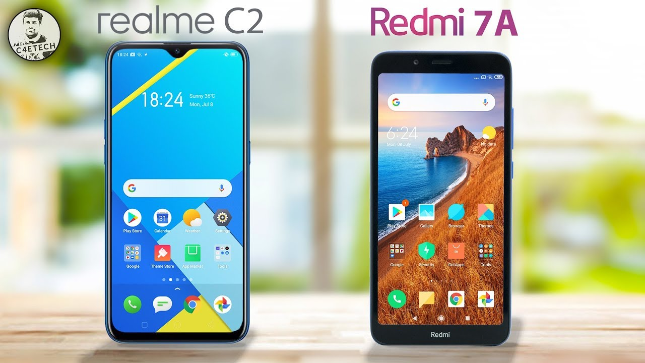 The Redmi 7A is Good, but is the Realme C2 Better? A Full Comparison!