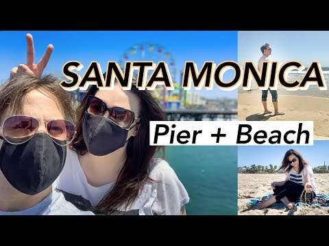 Santa Monica Pier And Beach In 3 Minutes | Vlog 8