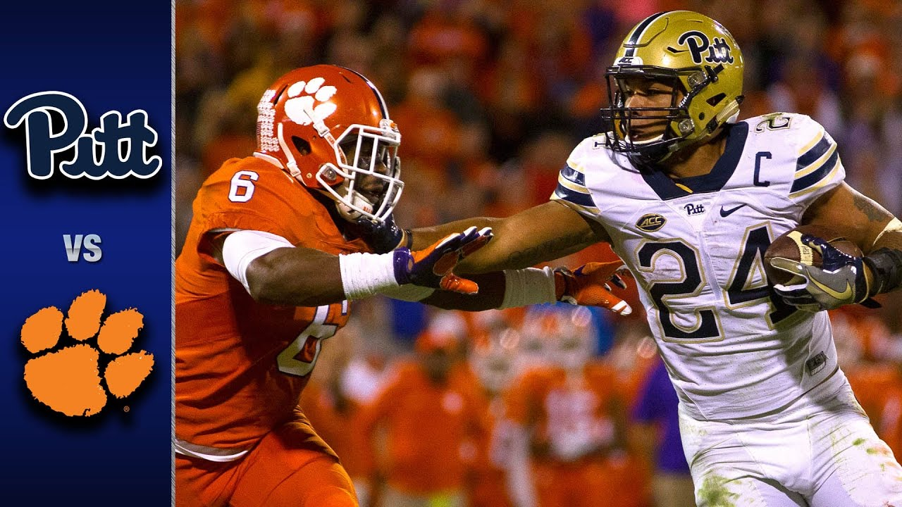 Pitt vs. Clemson Football Highlights (2016) - YouTube