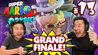 SUPER MARIO ODYSSEY GRAND FINALE!!! Bowser Mario in the  Moon Kingdom #13