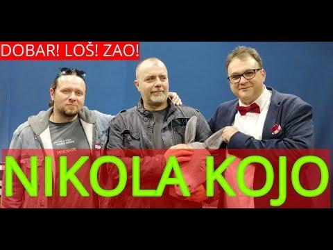 Dobar Loš Zao //// Gost: Nikola Kojo - 8. mart 2019.