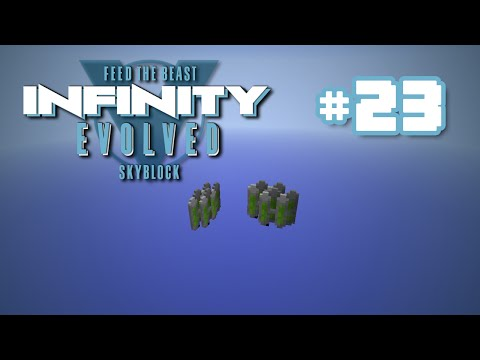 FTB Infinity Skyblock - Ep 23 - Fuel Rods