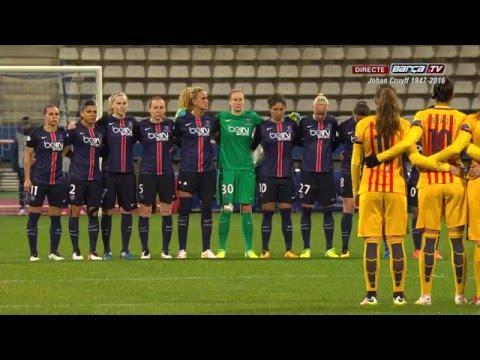 [CAT] PSG - FC Barcelona (UEFA Women Champions League) 1-0