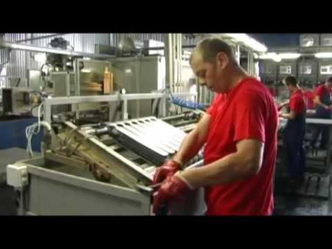 СанТехРай производство радиаторов - YouTube