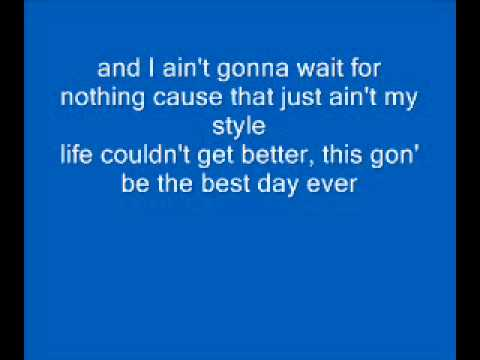 Mac Miller - Best Day Ever - Lyrics