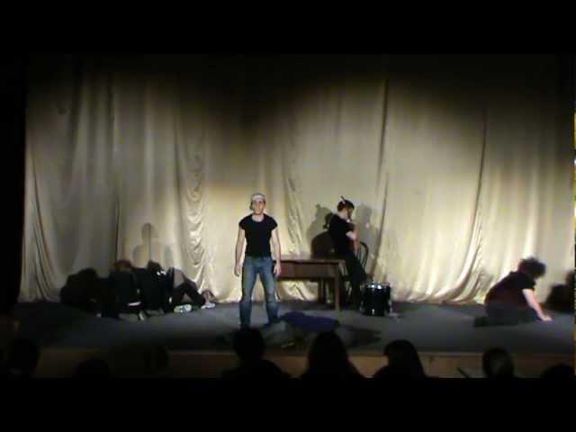 """Отрывок из спектакля """"Внутри собаки"""" ФЕСТОС 2012"""