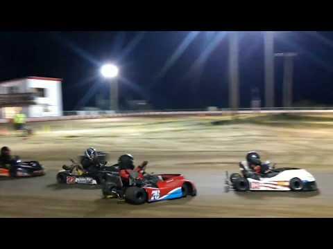 7.29.2017 - KC Raceway - Barrett - Junior 1 - Dash for Cash Feature