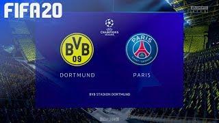 FIFA 20 - Borussia Dortmund vs. Paris Saint Germain @ Signal Iduna Park