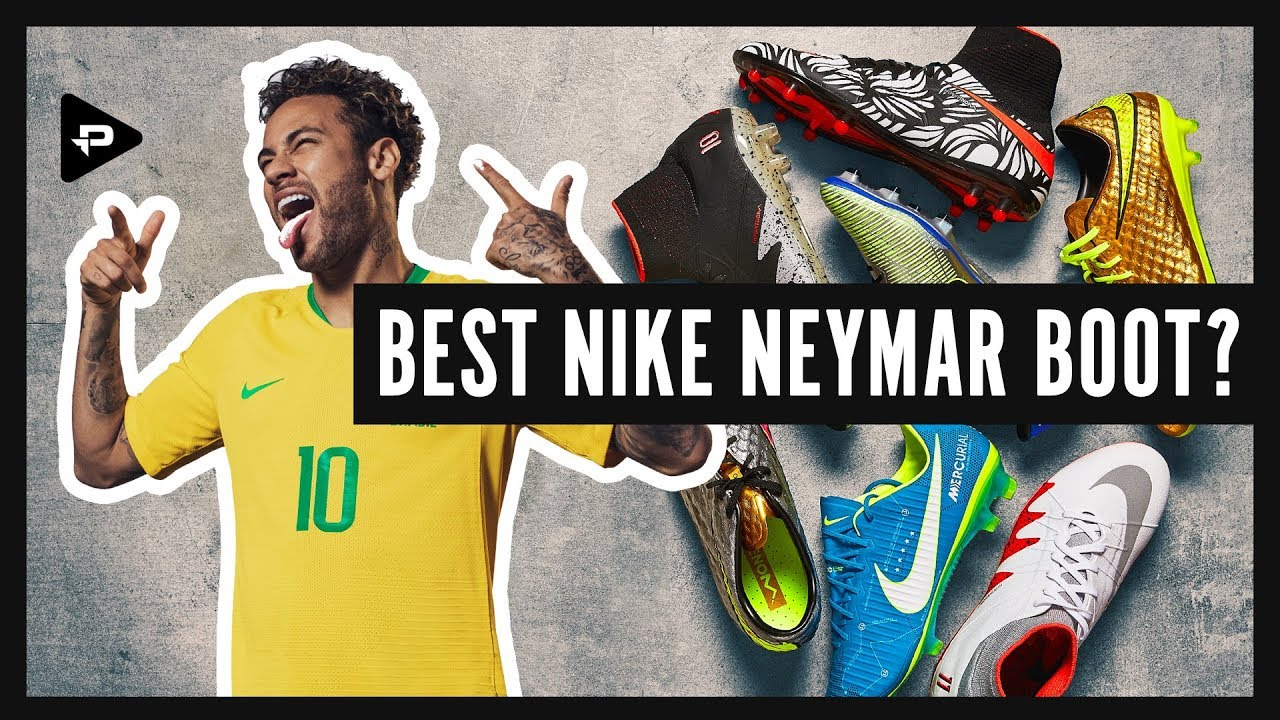 official photos c4acd 363bd NEYMAR FOOTBALL BOOTS HISTORY – THE EVOLUTION OF NEYMAR S SIGNATURE BOOTS