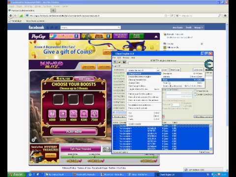 Facebook Bejeweled Blitz Cheat Engine Hack-By Raiden.wmv