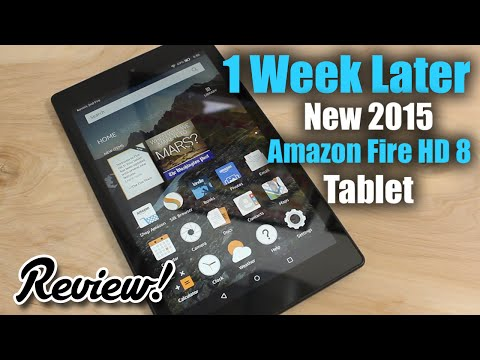 Review: New Amazon Fire HD 8 Tablet (Fall 2015)